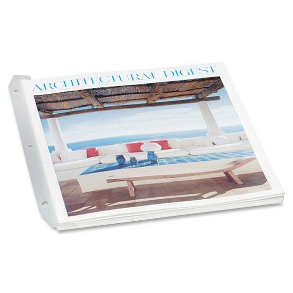 Baumgartens Magazine Organizer 12 Pack WHITE