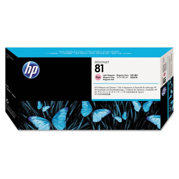 HP HP 81 (C4955A) Light Magenta Printhead and Cleaner