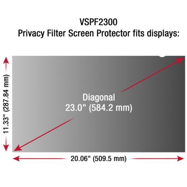 Viewsonic Privacy Filter Screen Protector