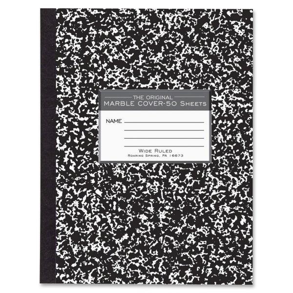 Roaring Spring Marble Cover Composition Book