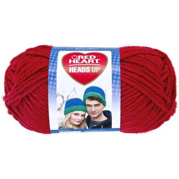 Red Heart Heads Up Yarn