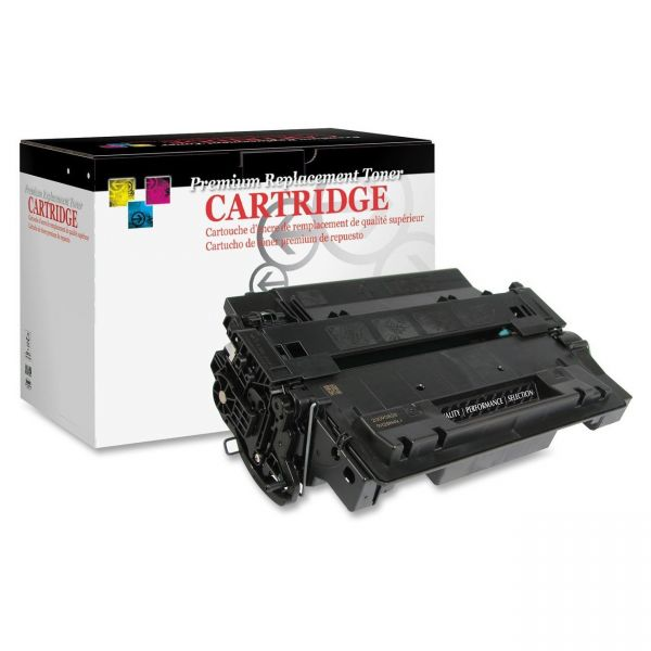 West Point Products Remanufactured HP CE255X High Yield Toner Cartridge