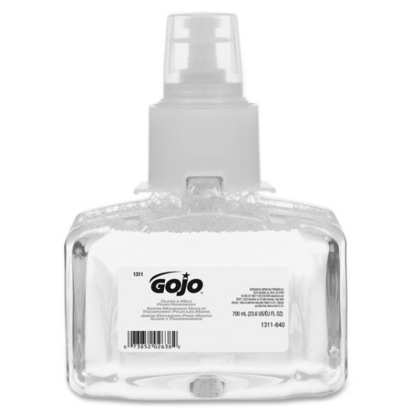 Gojo LTX-7 Clean and Mild Foaming Hand Soap Refill