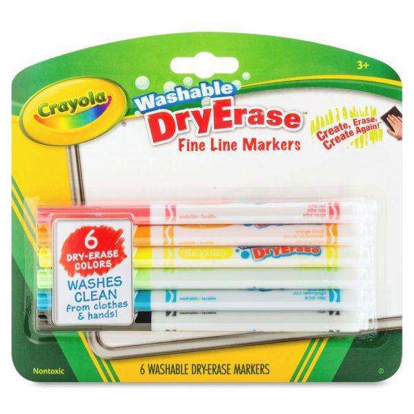 Crayola Washable Dry Erase Fine Line Markers