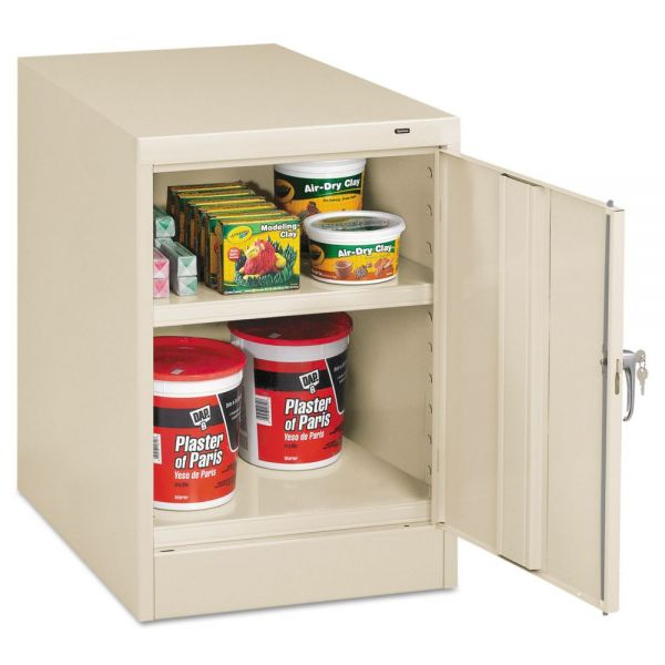 "Tennsco 30"" High Single Door Cabinet"
