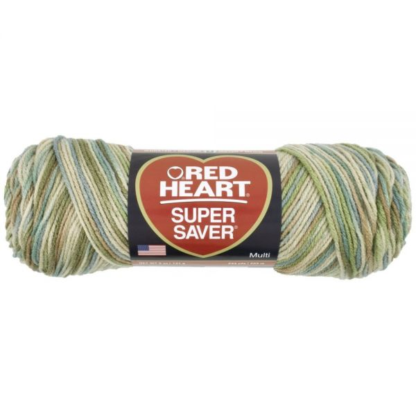 Red Heart Super Saver Yarn - Aspen