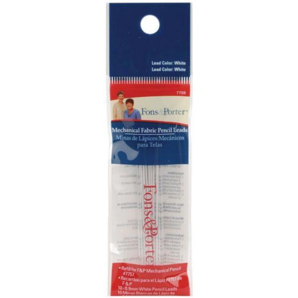 Fons & Porter Mechanical Fabric Pencil Lead Refill 10/Pkg