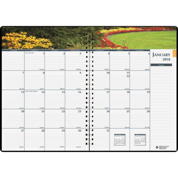 House of Doolittle Earthscapes Gardens of the World Monthly Planner