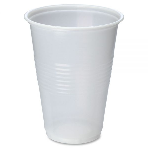 Genuine Joe 16 oz Translucent Cold Cups