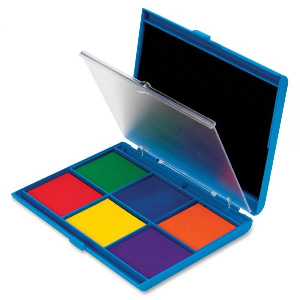 Learning Resources 7 Color Stamp Pad Ink Pad