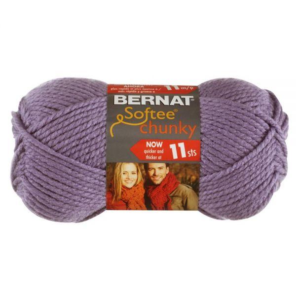 Bernat Softee Chunky Yarn - Lavender