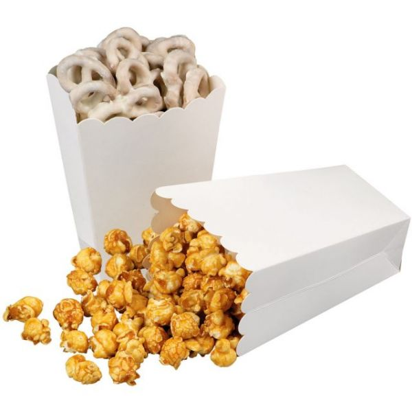 "Popcorn Treat Boxes 3.75""X2.25""X5.25"" 4/Pkg"