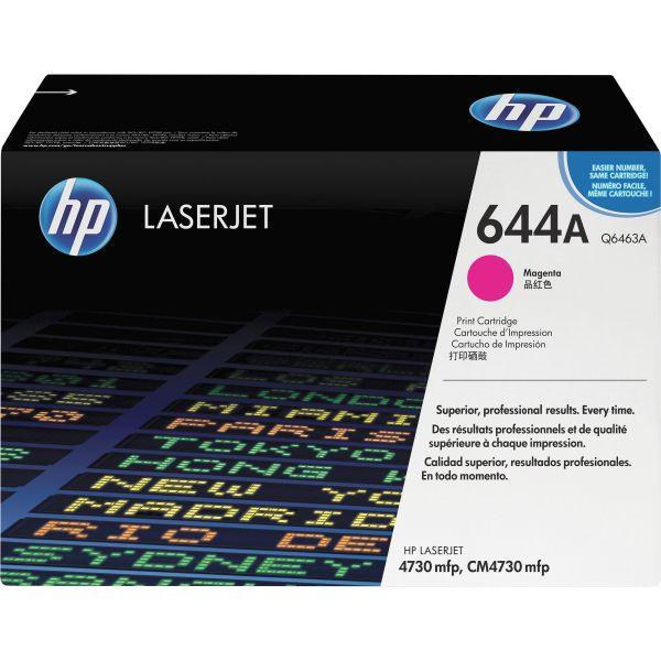 HP 644A, (Q6463A) Magenta Original LaserJet Toner Cartridge