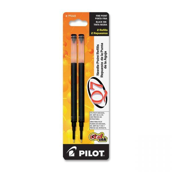 Pilot Q7 Retractable Needle Gel Refills