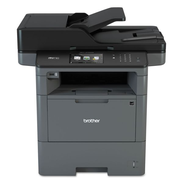 Brother MFC-L6700DW Wireless Monochrome All-in-One Laser Printer, Copy/Fax/Print/Scan