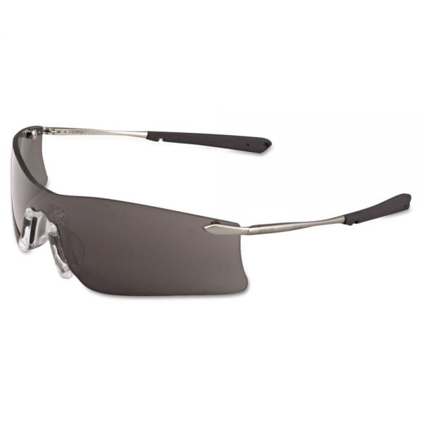 Crews Rubicon Protective Eyewear, Gray Anti-Fog Lens
