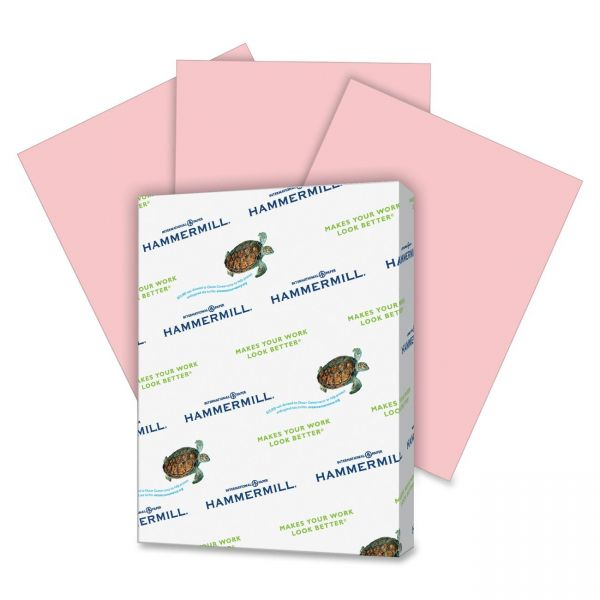 Hammermill Super-Premium Colored Paper - Pink