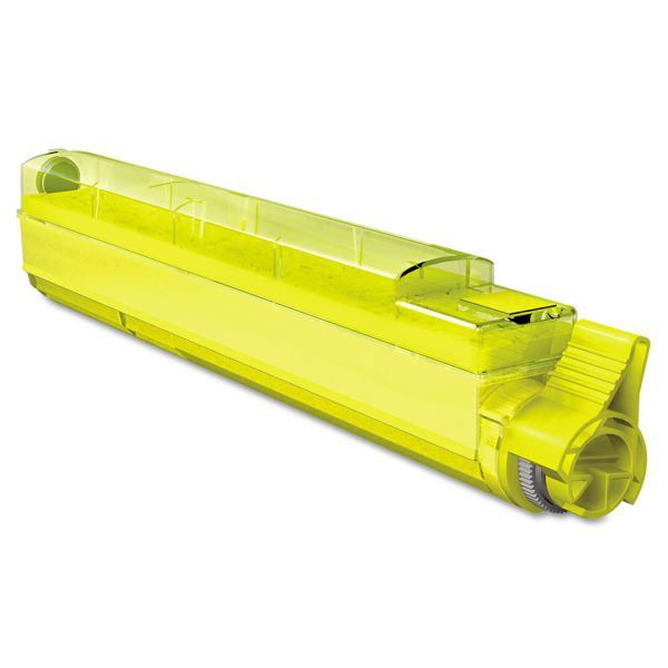 Media Sciences Remanufactured Xerox 106R01079 Yellow Toner Cartridge