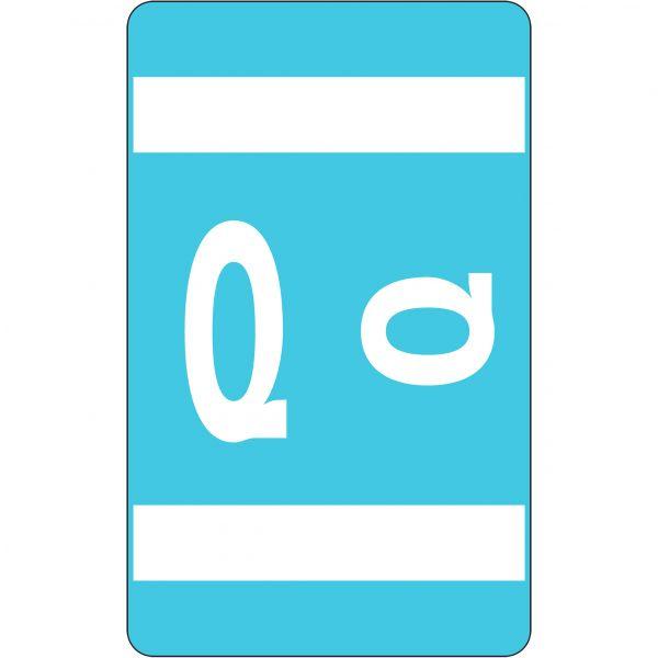 Smead AlphaZ ACCS Color-Coded Alphabetic Label - Q
