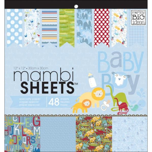 MAMBI Specialty Cardstock Pad