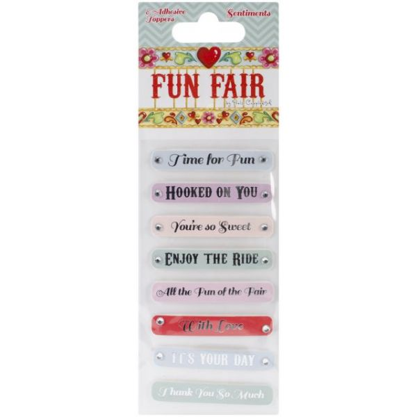 Helz Fun Fair Adhesive Toppers