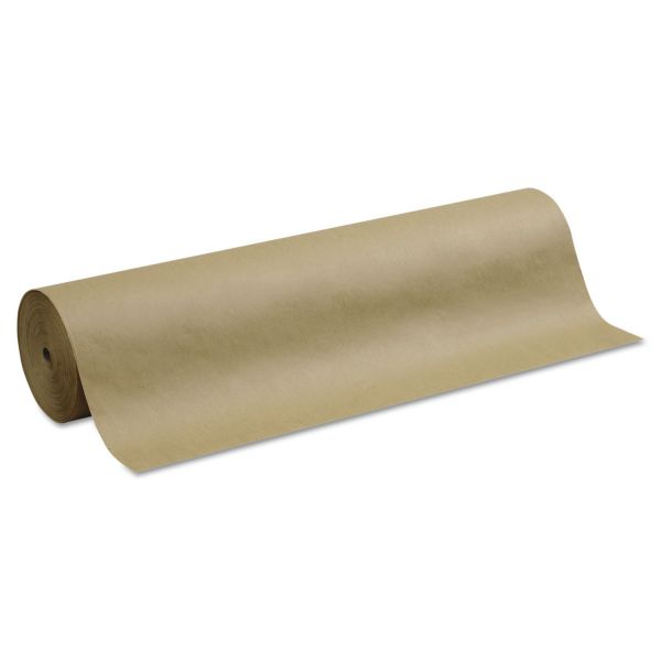 """Pacon Kraft Paper Roll, 40 lbs., 36"""" x 1000 ft, Natural"""