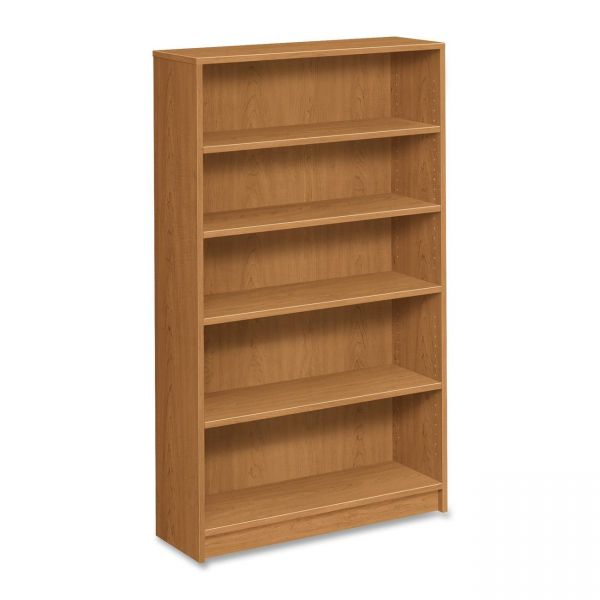 HON 1870 Series 5-Shelf Laminate Bookcase