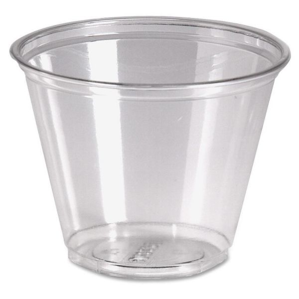Dixie Crystal Clear 9 oz Plastic Cups