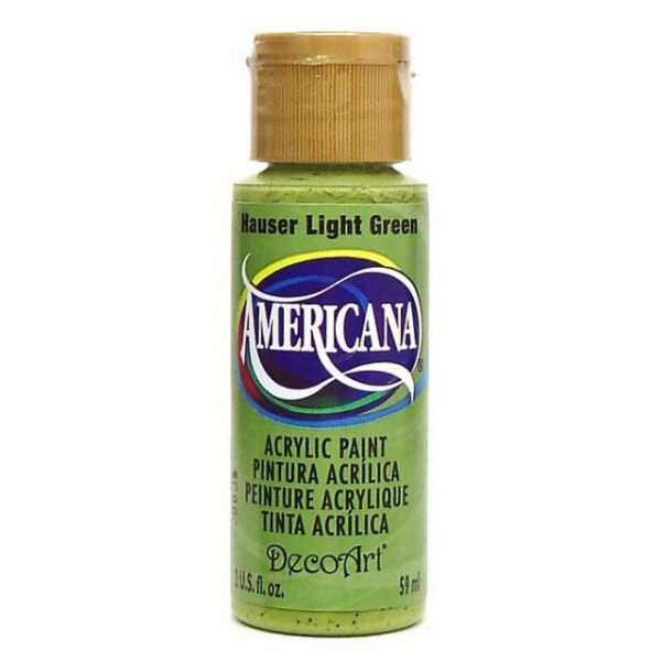 Deco Art Americana Hauser Light Green Acrylic Paint