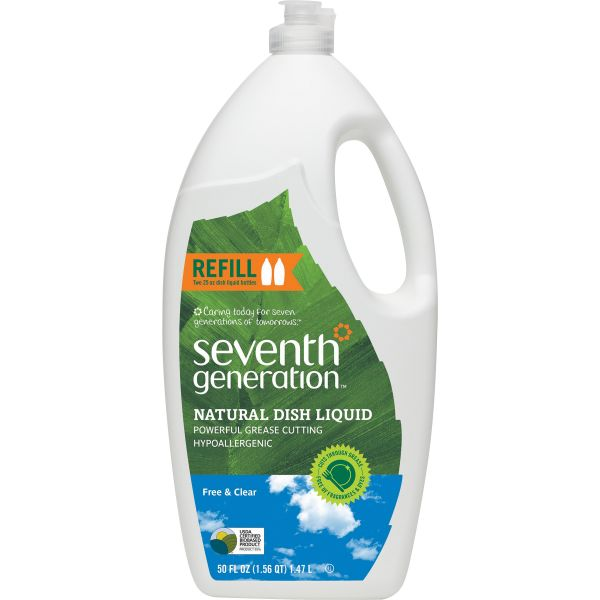Seventh Generation Free & Clear Natural Liquid Dish Soap