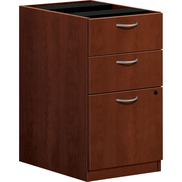 "HON basyx by HON BL Series Pedestal File | 2 Box / 1 File Drawer | 15-5/8""W"
