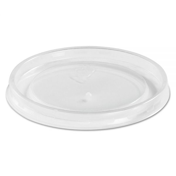 Chinet High Heat Vented Plastic Takeout Container Lids