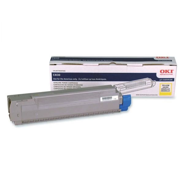 Oki 44059109 Yellow Toner Cartridge