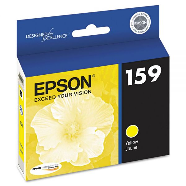 Epson 159 Yellow Ink Cartridge (T159420)