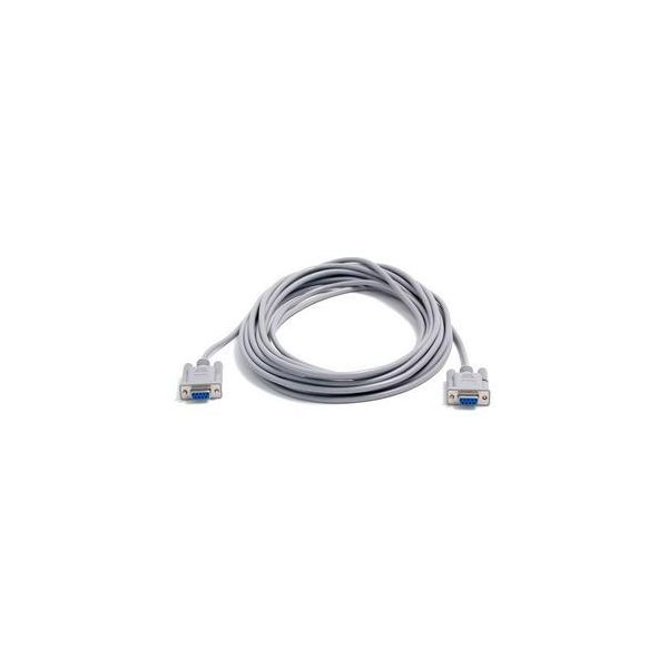 StarTech.com 25 ft Cross Wired DB9 Serial Null Modem Cable - F/F