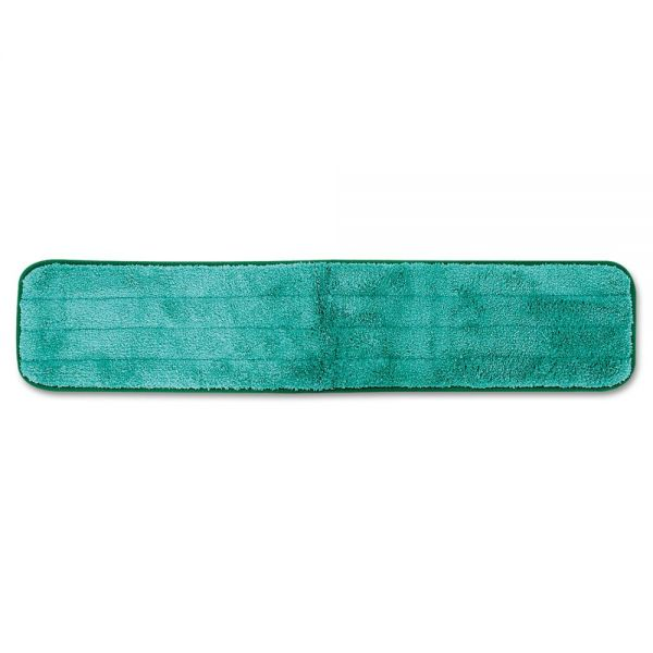 "Rubbermaid Commercial Dry Hall Dusting Pad, Microfiber, 24"" Long, Green"