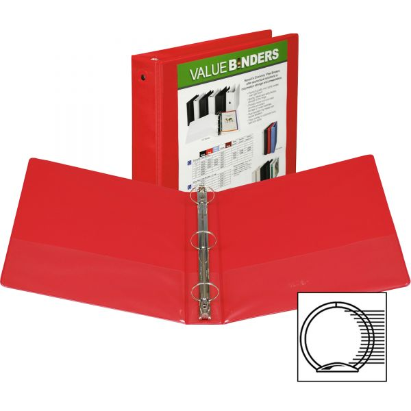 "Samsill Economy 1 1/2"" 3-Ring View Binder"