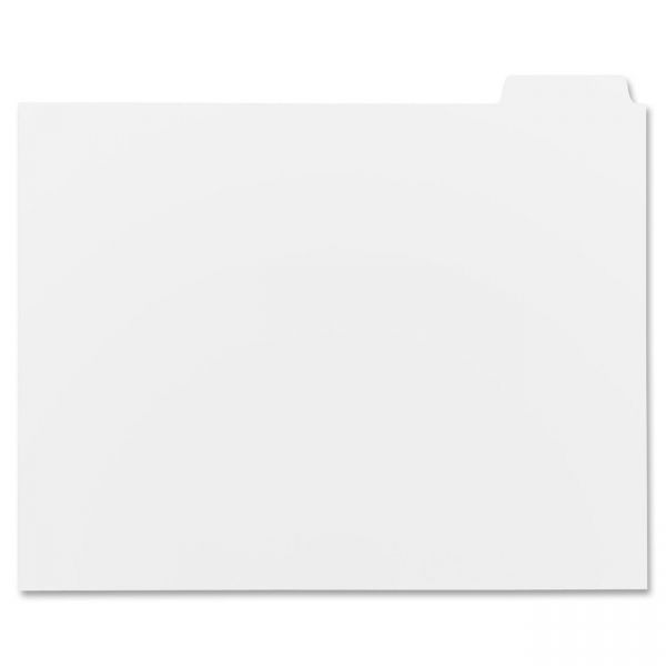 Sparco Reverse Collated 5-Tab Index Dividers