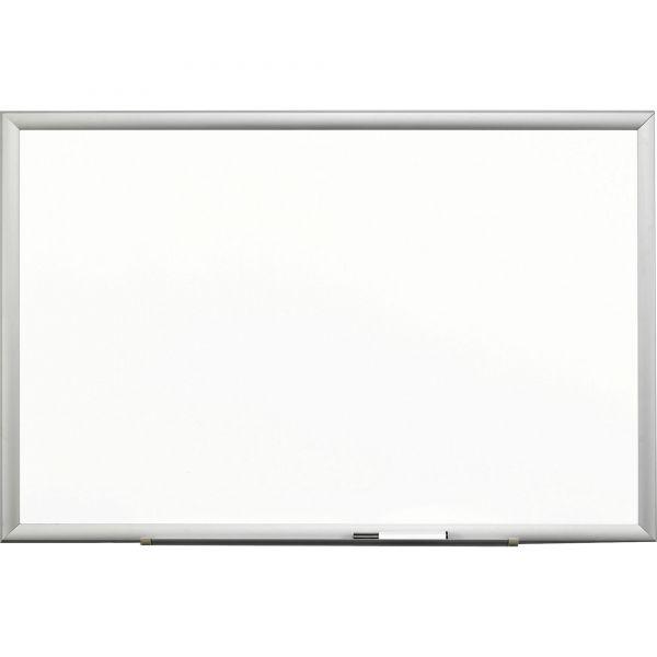 "3M 36"" x 24"" Magnetic Porcelain Dry Erase Whiteboard"