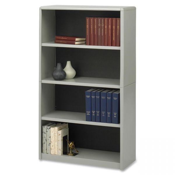 Safco ValueMate Economy 4-Shelf Steel Bookcase