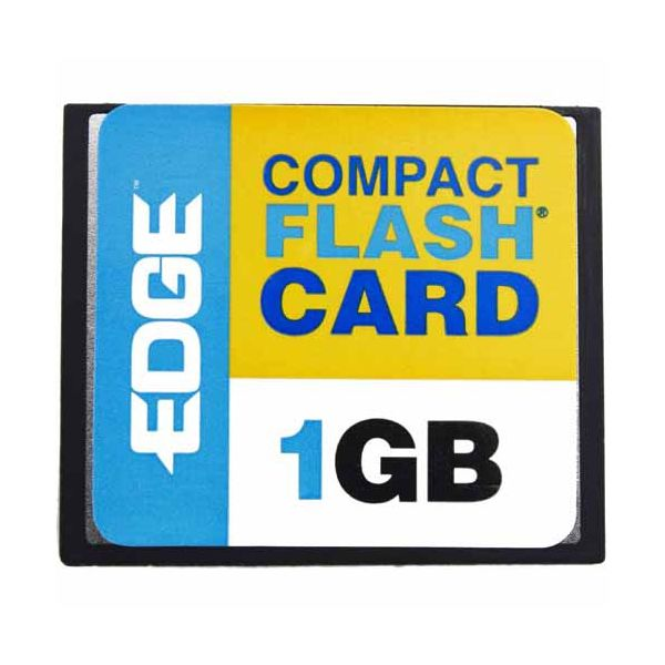 EDGE Tech 1GB Digital Media CompactFlash Card