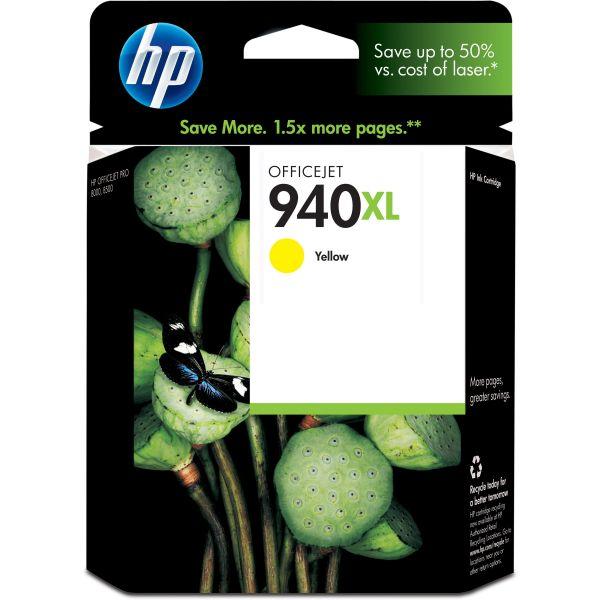 HP 940XL High Yield Yellow Ink Cartridge (C4909AN#140)