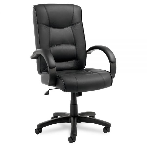 Alera Strada Series High-Back Swivel/Tilt Office Chair