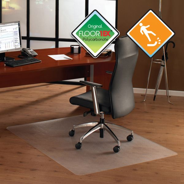ClearTex Ultimat Anti-Slip Hard Floor Chair Mat