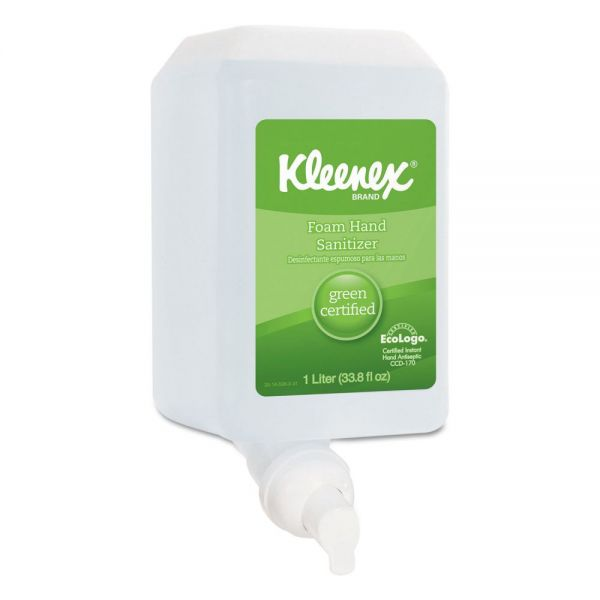 Kleenex Green Certified Foam Hand Sanitizer Refills