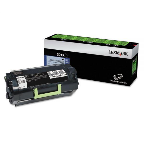 Lexmark 52D1X00 Black Extra High Yield Return Program Toner Cartridge