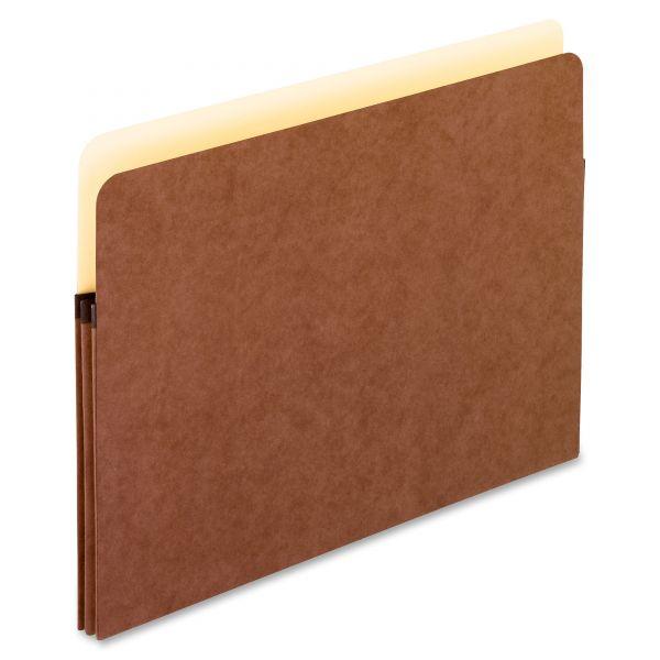 Pendaflex Standard Expanding File Pockets, Manila, Straight Cut, 1 Pocket, Letter, Red