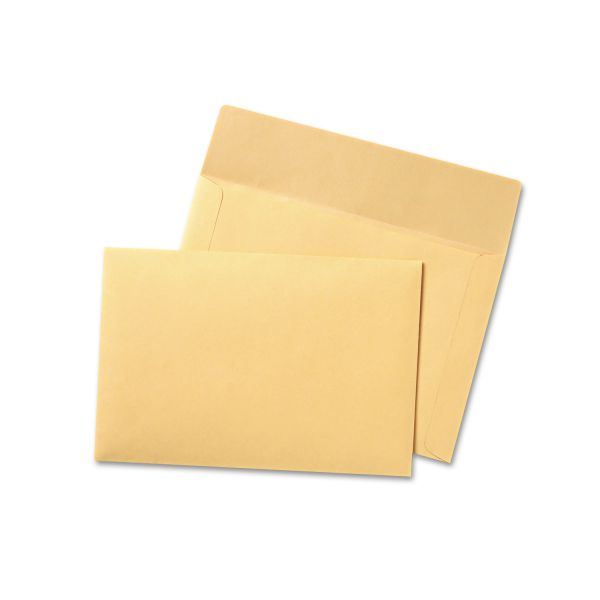 "Quality Park 10"" x 14 3/4"" Booklet Envelopes"