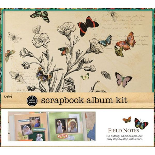 "1 Hour Album Scrapbook Kit 12""X12"""