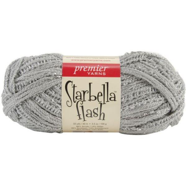 Premier Starbella Flash Yarn - Silver